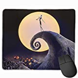 The Nightmare Before Christmas Mouse Pad Customized, Premium Rectangle Mouse Pad, Non-Slip Rubber Gaming Mouse Pad for Laptop, Computer & PC, 11.8 X 9.8 Inch.