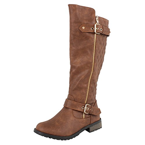 Forever Link Mango-21 Lady Boot (11 M US, Tan)