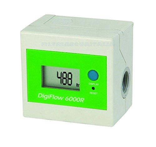 Digitaler Literzähler mit Batterien Digiflow 6000R