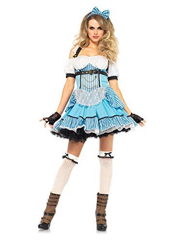 Leg Avenue 85409 - Rebel Alice Damen kostüm, Größe Medium (EUR 38)