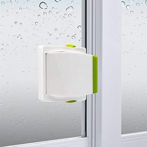 of sliding doors Sliding Glass Door Child Lock - OKEFAN 4 Pack Baby Safety Slide Window Locks for Kids Proof Patio Closet Doors No Drilling Tools Needed (Green)