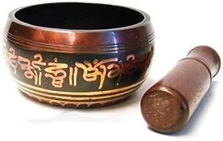 Artncraft Tibetan Singing Bowls with Striker, 4.5