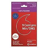 Vodafone Callya Talk und SMS inkl. 10 Euro Startguthaben Prepaid SIM Karte ohne Vertrag im D2-Netz