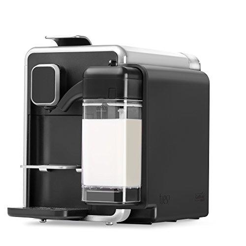 Máquina de Café Expresso e Bebidas Quentes com Leite 110V, Três BARISTA S22, Prata