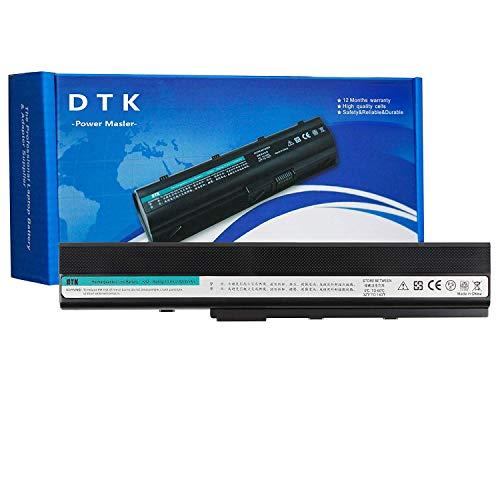 DTK A32-k52 A42-K52 Bateria para ASUS A52F K52 K52F X52J X52N X52F K52J A42 A52 K42 X42 X52 P42 P52 10.8V 5200MAH