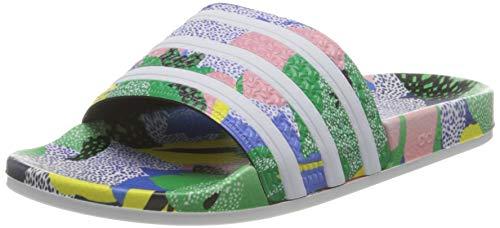 adidas Damen Adilette W Running Shoe, Supcol/FTWWHT/Legink, 37 EU