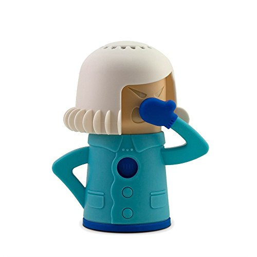 molog Angry Mama limpiador de microondas horno de vapor fácil limpia cocina limpieza herramientas