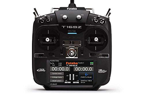Futaba T16SZ Modo 2 P-CB16SZ-LEU 2,4 GHz Número de Canales: 16 con Receptor 1 Unidad