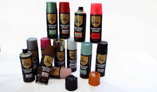MIBAZAR- Spray Pintura Color Ocre 8602