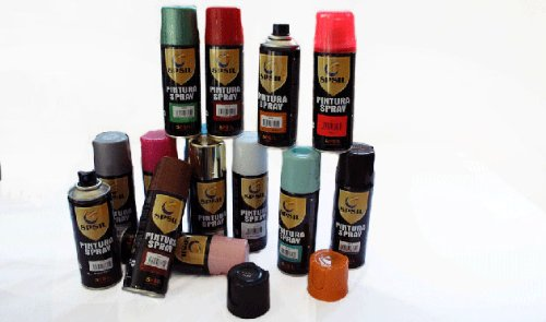MIBAZAR- Spray Pintura Color Marron Tabaco 8661