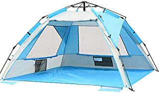 ZOMAKE Pop Up Beach Tent - Instant Sun Shelter Cabana, Portable Beach Shade
