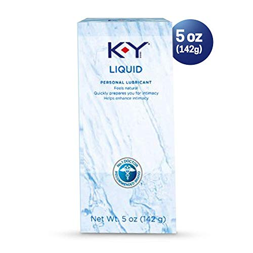K-Y Liquid Personal Water Based Lubricant, 5 Ounce (Pack of 3)
