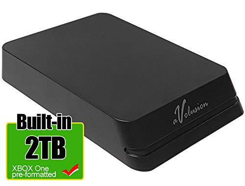 Avolusion Mini HDDGear Pro 2TB USB 3.0 Portable External Gaming Hard Drive (Compatible with Xbox One, Pre-Formatted) - 2 Year Warranty