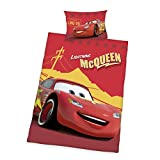 Herding Juego de Cama de Disney 's Cars, algodón, Rojo, 135x 100cm
