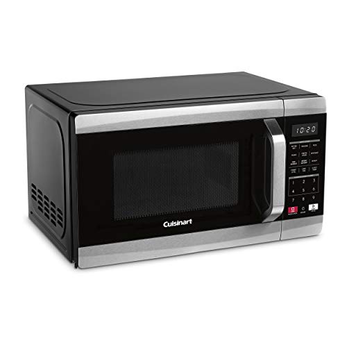 Cuisinart CMW-70C Compact Stainless Steel Microwave Oven, 0.7 cu-ft, Black