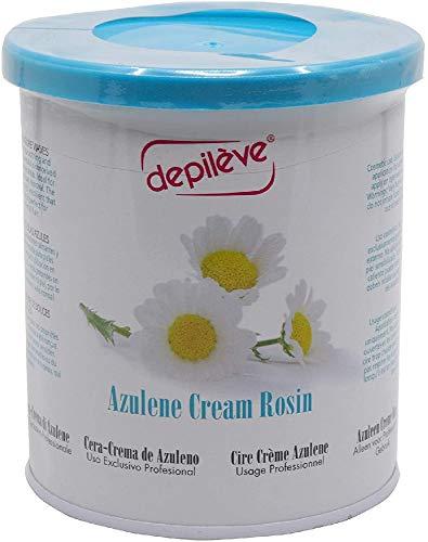Depiléve Azulene Cream Colofonia Tira de Cera 800 g