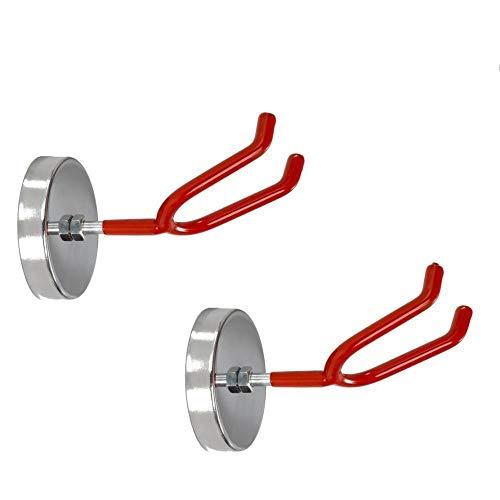 Spurtar Magnetischer Spritzpistolenhalter Lackierpistolen magnetischem Halter universelle Halterung an Regalen und Anderen magnetischen Oberflächen, 4.5kgs, Rot