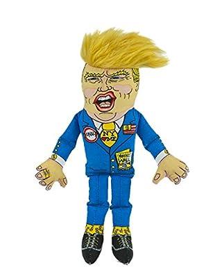 "FUZZU Donald Trump Presidential Parody Novelty Cat Toy - Durable & Non-Toxic with U.S. Grown Certified Organic Catnip (8"")"