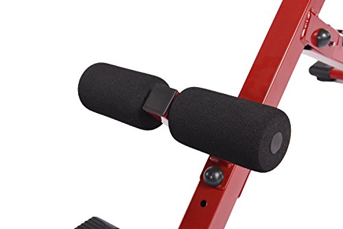 Product Image 5: Stamina Hyper Bench, Red