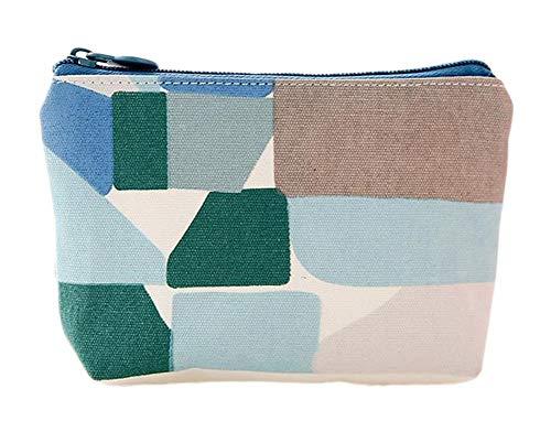 U/K Mädchen Schöne Kleine Münzen Tasche Kleine Ordner Koreanische Version Brieftasche Reißverschluss Leinwand Kreative Mini Taschen Beutel 10 * 9 * 2 cm 1 Neu Freigegeben