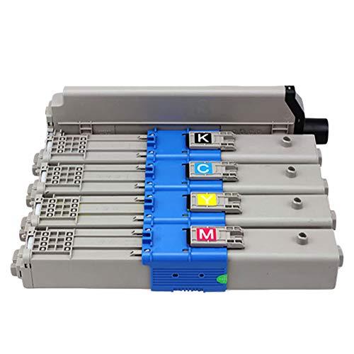 EODPOT Cartucho De Tóner C332, Negro 13,000 Páginas, Adecuado para La Impresora Láser De Color C332DNW / MC363DN, Sustituto Unidad C301TTEER, PERFETTAMENT Red