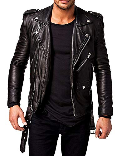 Blaq Ash Biker Faux Leather Jacket