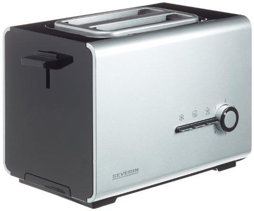 Severin AT 2519 Automatik-Toaster 900 W, silber/schwarz