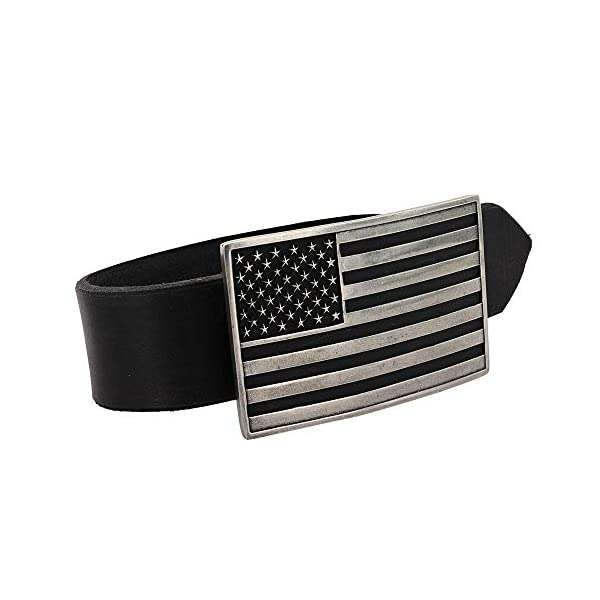 Montana Silversmiths American Flag Series Attitude Western Buckle