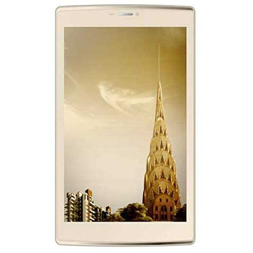 Micromax Canvas Tab P702 Tablet (WiFi, 4G, Voice Calling), Champagne
