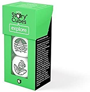 Rory's Story Cubes Explore by The Creativity Hub Ages 6+ - 1 or more Players