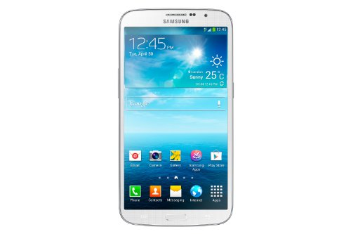 Samsung Galaxy Mega GT-i9205 Smartphone (16 cm (6,3 Zoll) Touchscreen, Cortex A15, Dual-Core, 1,7GHz, 1,5GB RAM, 8 Megapixel Kamera, Android 4.2) weiß