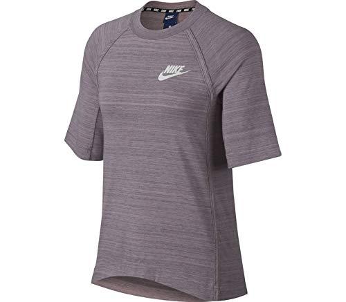 Nike Women 's Sportswear Advance 15Top, Colore: Elemental Rose/White, Taglia XS