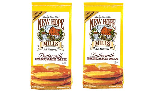 New Hope Mills Easy To Make Pancake Mix Two 32 oz Bags Your Choice of 5 Different Varieties Buttermilk
