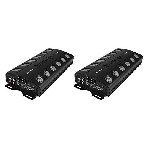 Audiopipe APCLE-2004 2000 Watt 4-Channel AB Car Audio MOSFET Amplifier (2 Pack)