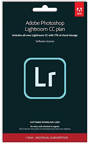 Adobe Photoshop Lightroom mit 1TB UK Standard 1 Gerät 1 Jahr PC/Mac/Android Download Download