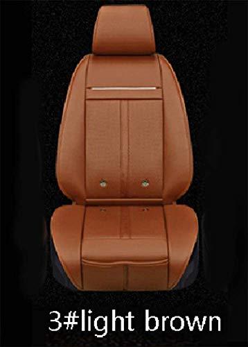 WangyongQI 12V 3-in-1 koeler ventilator + massage + verwarming autostoelhoezen Universal Fit SUV limousines stoelkussen met motoraandrijving