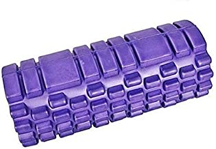 Roller Roll Exercises Yoga and back purple Fitness World