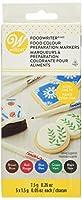 Food Writer Extra-Fine Tip Edible Color Markers .25oz 5/Pkg-Assorted (並行輸入品)