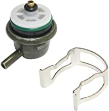 Fuel Pressure Regulator compatible with S-Series 95-97 / Rodeo 98-04 Angled Nipple Orientation