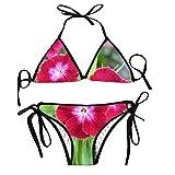 Women's Bathing Swimsuits Adjustable Strap Turtle Under Water Bikini Set Two Pieces Swimwear
