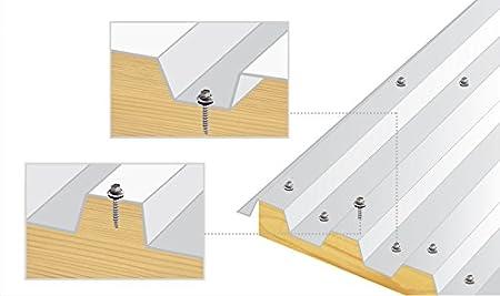 color verde brillante 250 piezas de 4,8 x 25 mm cabeza hexagonal para techos de metal a madera sujetador