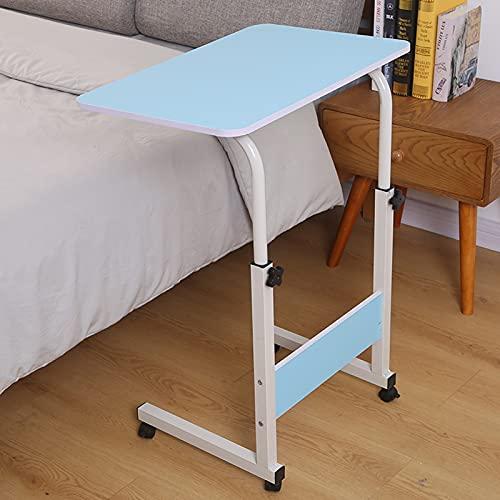 Cajolg Mesa auxiliar de escritorio para escritorio, oficina, hogar, oficina, cama, sofá, mesa de comedor, mesita de noche, apta para diferentes personas, B