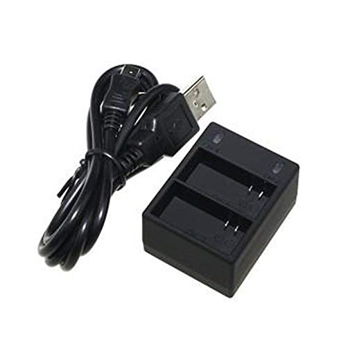 Carregador Duplo de Bateria AHDBT-201 AHDBT-301 AHDBT-302 para GoPro Hero 3