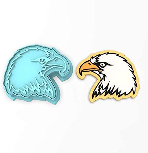 Bald Eagle Cookie Cutter Stamp product image