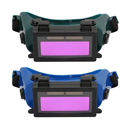 Gafas de Soldadura, Máscara de Ojos de Oscurecimiento Automático Solar Gafas de...