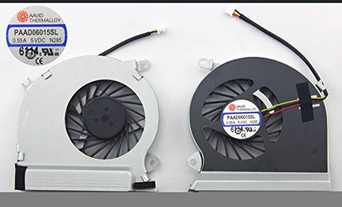 KENAN Laptop CPU Fan for MSI Gaming GE70 0NC 0ND 2OC 2OD 2OE 2PC, Compatible P/N: PAAD06015SL-N285