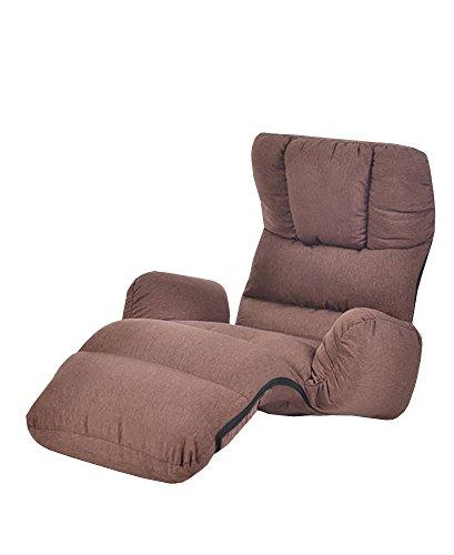 urban D.D Lazy sofá sofá único de Creative Plegable Estilo japonés sofá Tatami Look Libro sofá Dedo Cute (Perple)
