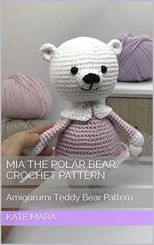 Free Polar Bear Crochet Amigurumi Pattern - Little Bear Crochets | 500x314