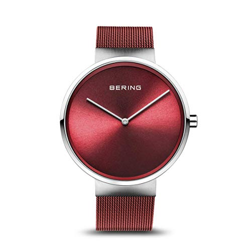 BERING Time | Men's Slim Watch 14539-303 | 39MM Case | Classic Collection | Stainless Steel Strap | Scratch-Resistant Sapphire Crystal | Minimalistic - Designed in Denmark
