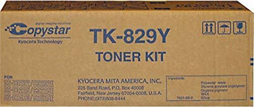 KYOCERA TK829Y Cartucho de tóner y láser